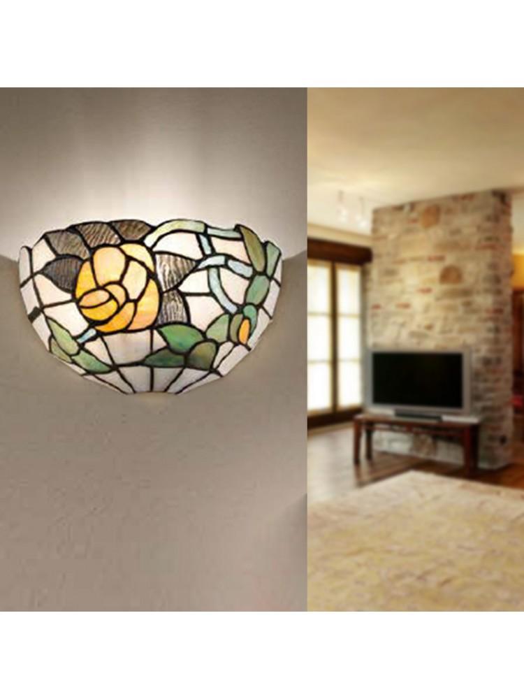 Applique lampada da parete tiffany perenz illuminazione for Illuminazione online