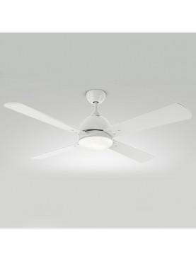 Ventilatore da Soffitto Bianco Moderno Perenz