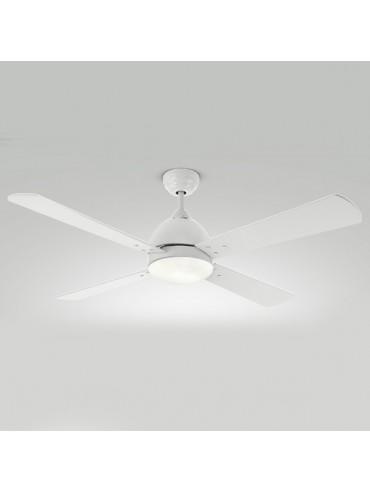 Ventilatore da soffitto moderno 7132b perenz illuminazione - Ventilatore da soffitto design ...